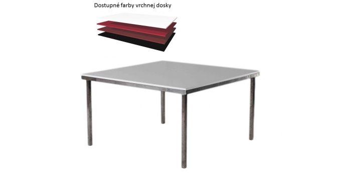 Štvorcový stôl, rozmer 130 x 130 cm