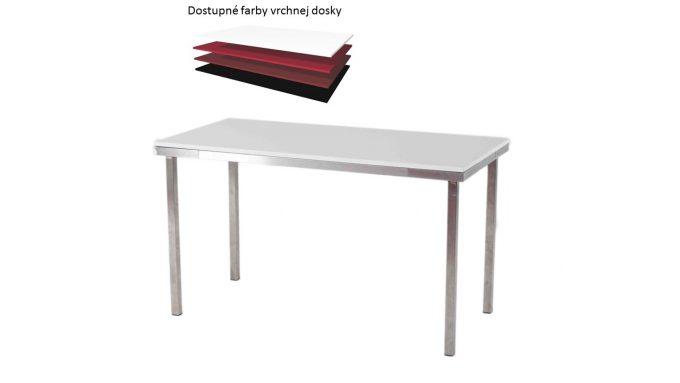 Obdĺžníkový stôl, rozmer 130 x 65 cm
