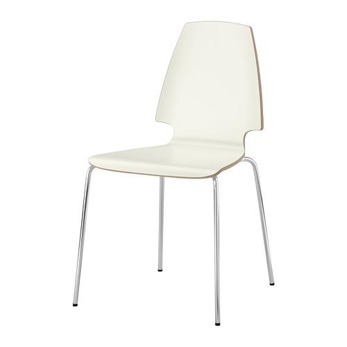 Stolička, biela VILMAR