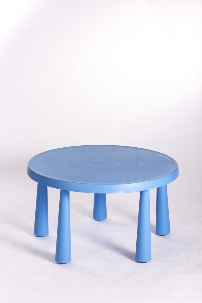 Detský modrý stôl