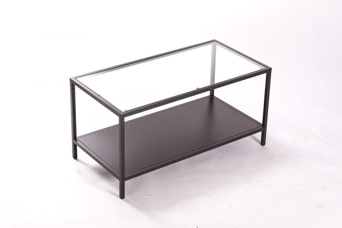 Konferenčný stôl, veľký sklenený