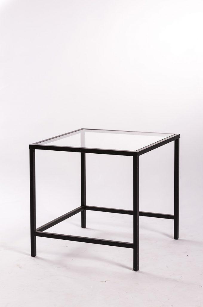 Konferenčný stôl, malý sklenený