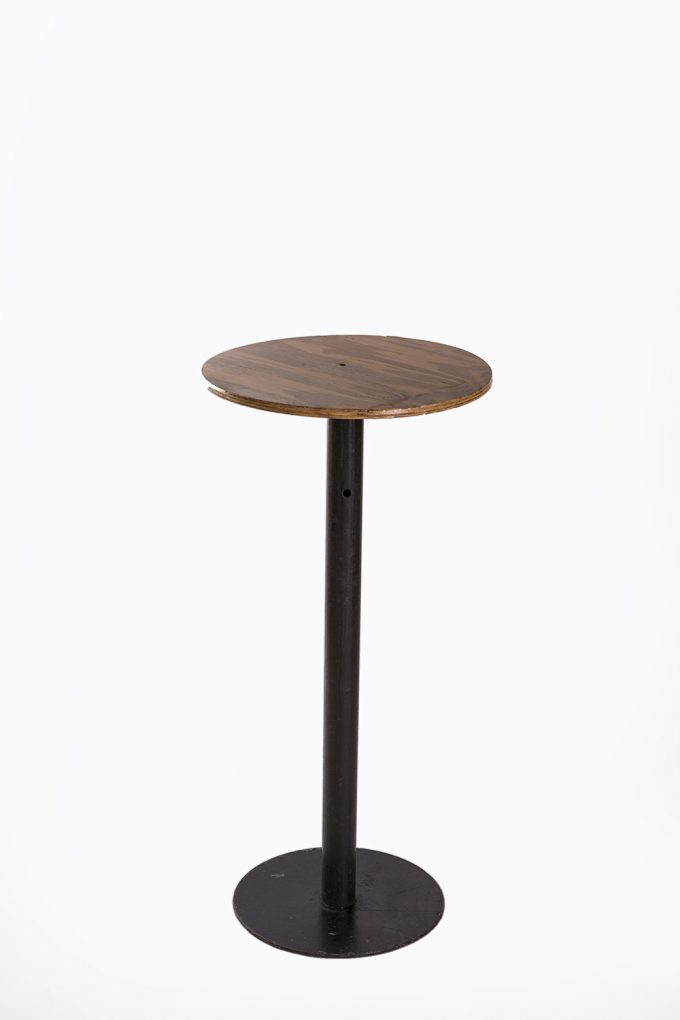 Stand by stôl, svetlá doska bez obrusu