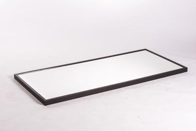 Celotelové zrkadlo, tmavý rám