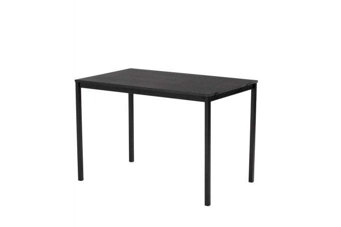 Stôl, čierny, rozmer 110 x 67 cm