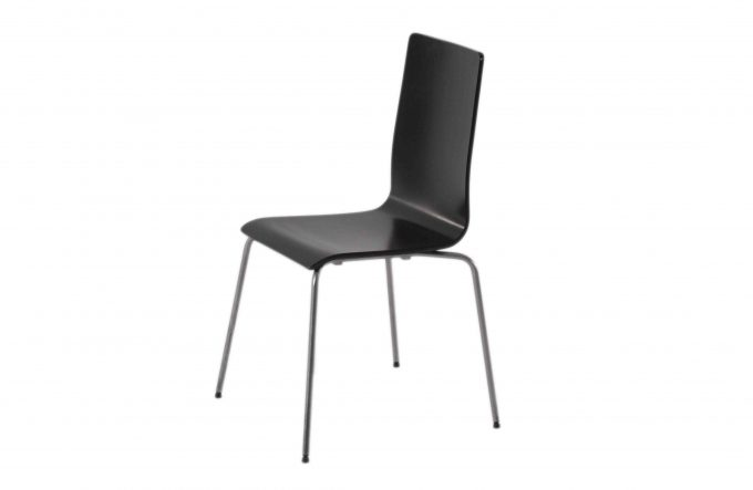 Stolička, čierna VILMAR