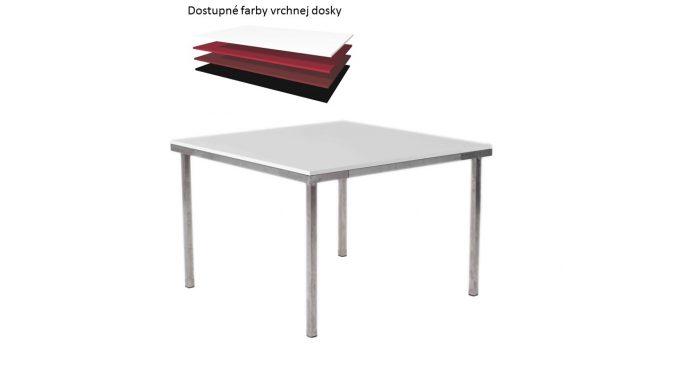 Štvorcový stôl, rozmer 110 x 110 cm