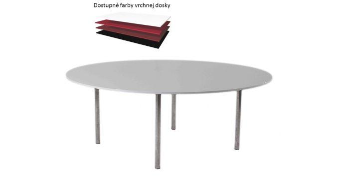 Kruhový stôl, pre 8 -10 osôb