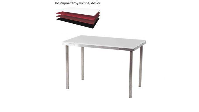 Obdlžníkový stôl, rozmer 90 x 65 cm
