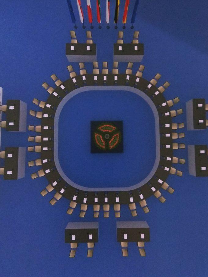 Konferenčné sedenie ŽENEVA pre 36 osôb