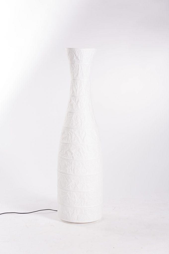 Stojanová lampa, biela