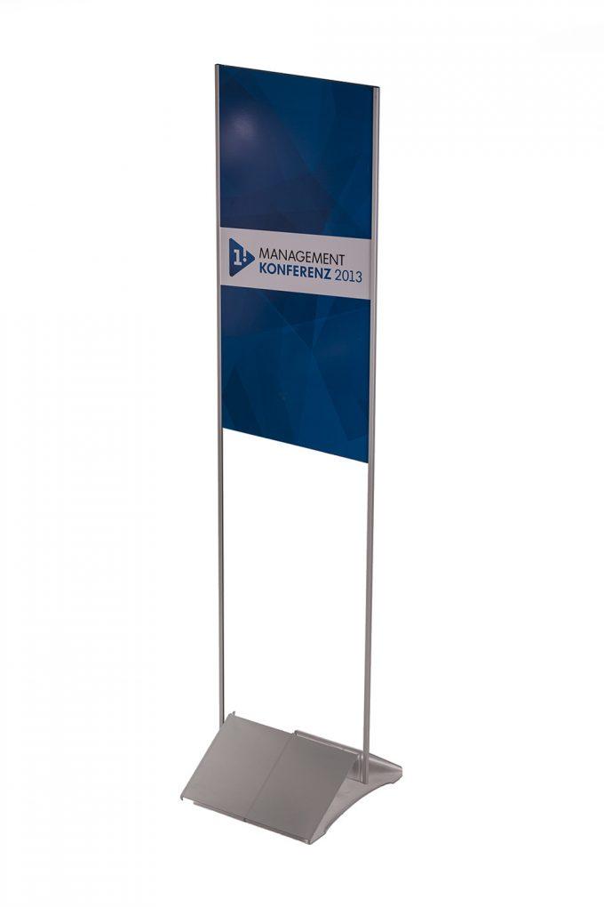 Informačný stojan, akrylátový, vysoký I