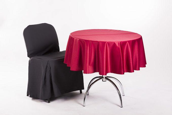 Kaviarenské sedenie, čierno-červené prevedenie