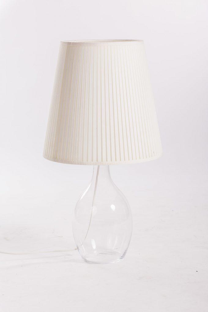 Lampa, sklenená