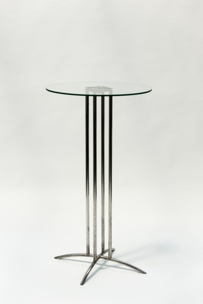 Stand by stôl, sklenený