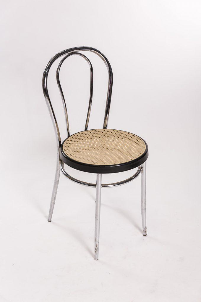 Tonetová stolička, strieborná